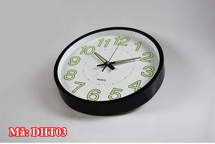 đồng hồ treo tường kim dạ quang